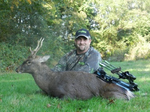 John's 2013 Sika deer taken in MD